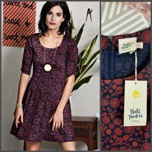 Modcloth Mata Traders Serephina Dress Garnet Women